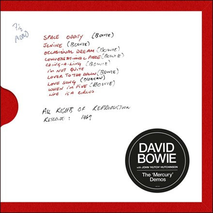 David Bowie - The Mercury Demos Vinyl LP Box Set