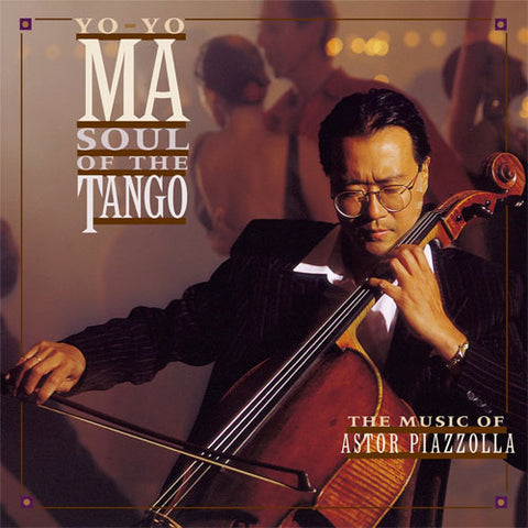 Yo-Yo Ma - Soul of the Tango 180g Import Vinyl LP direct audio