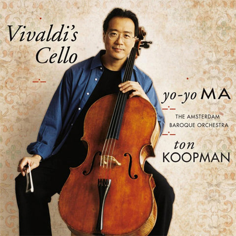Yo-Yo Ma - Vivaldi's Cello 180g Import Vinyl 2LP