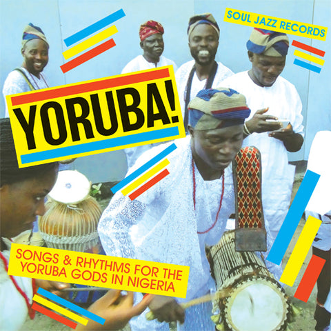 YORUBA! Songs & Rhythms For The Yoruba Gods In Nigeria Vinyl 2LP