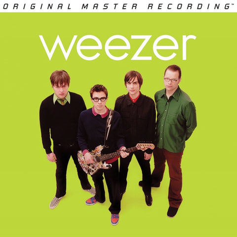 Weezer - Weezer (Green Album) on Numbered Limited Edition 180g LP from Mobile Fidelity - direct audio