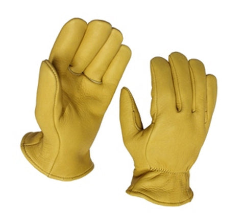 Superior Elkskin Leather Glove - Foam Lined - Cowboy Hats and More