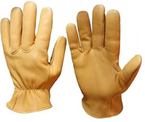 Seamless Palm Elkskin Leather Glove - Cowboy Hats and More