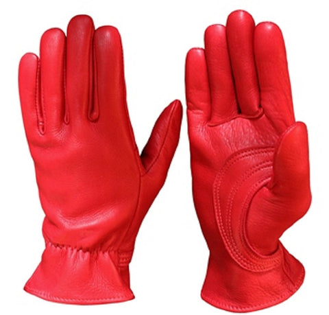 Durango Deerskin Leather Gloves with Palm Patch - Cowboy Hats and More  - 1