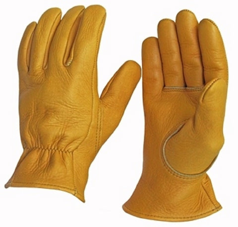 Favorite Elkskin Leather Gloves -- Foam Lined - Cowboy Hats and More