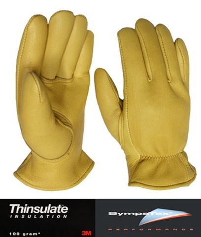Favorite Elkskin Leather Glove w Thinsulate™ & Sympatex® - Cowboy Hats and More