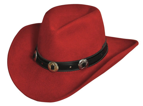 Addison Crushable Wool Cowgirl Hat -- Shapeable - Cowboy Hats and More