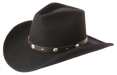 The Rattler - Crushable Wool Cowboy Hat by Silverado - Cowboy Hats and More  - 1