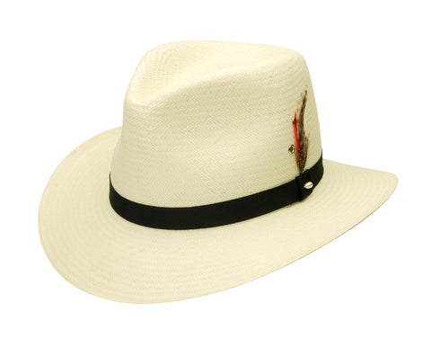 Black Creek Classic Summer Straw Fedora