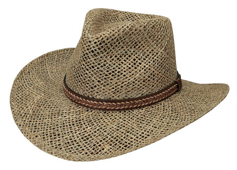 Black Creek Classic Straw Outback Hat