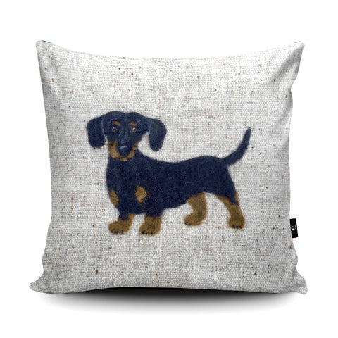 Dachshund SA15U Cushion by Sharon Salt