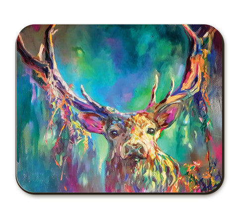 Woodland Stag SG06A Placemat by Sue Gardner