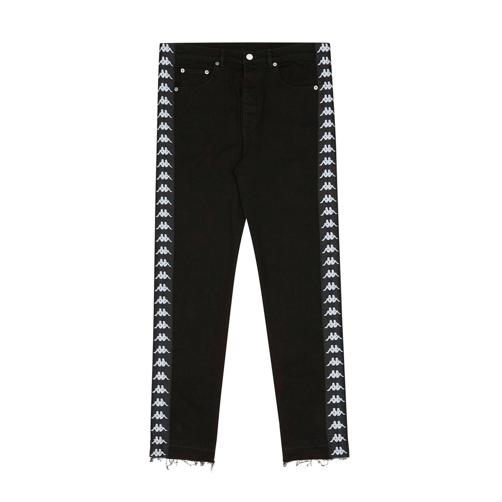 Kappa Kontroll, Black Banda Denim Pants