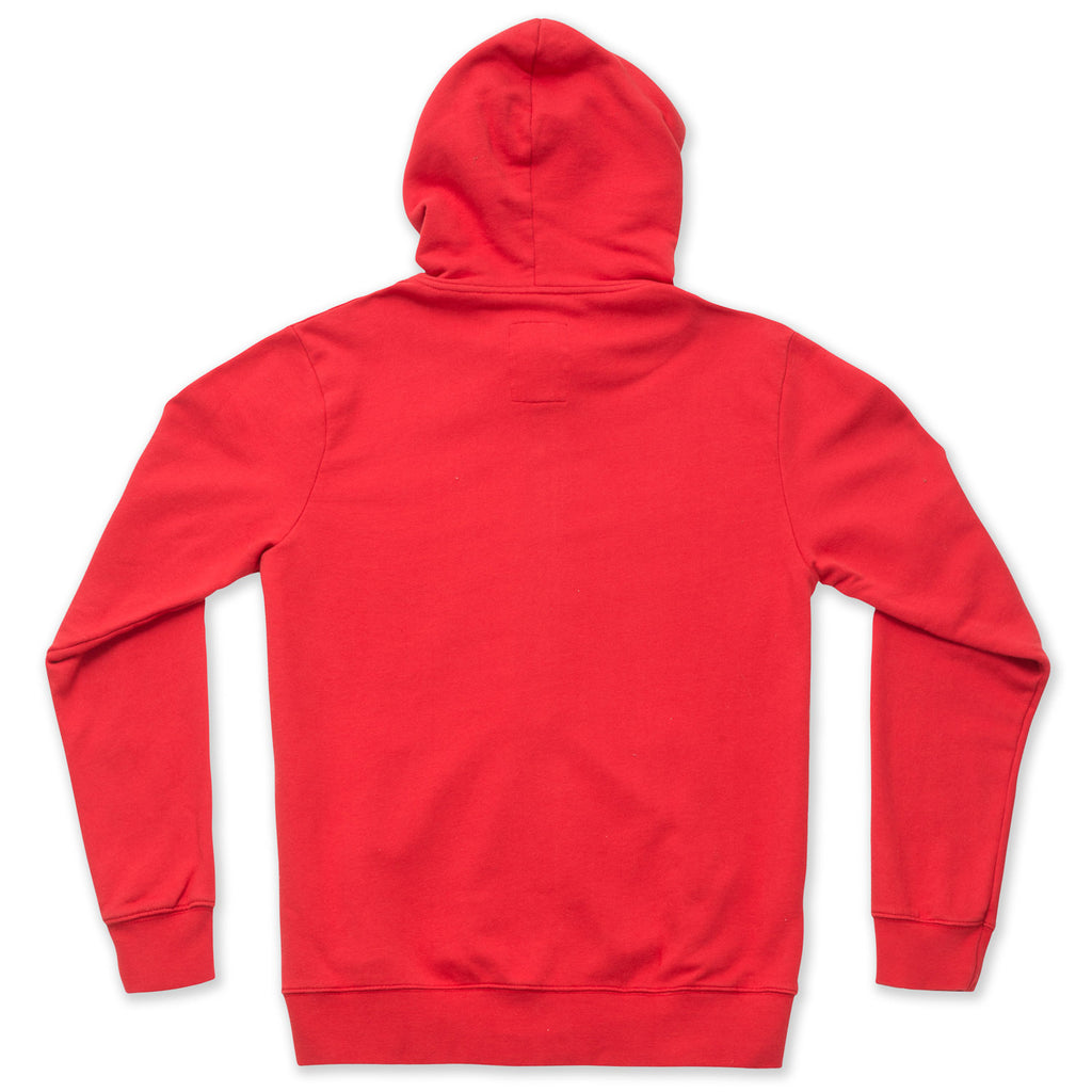 silverstick mens organic cotton zip hoodie tobias grenadine back
