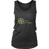 Ladies Let go...Let it Happen Dark Tank