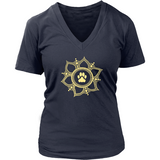 Paw Lotus 2015 Dark V-Neck