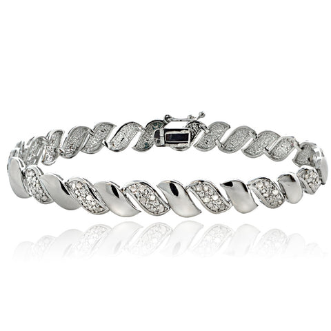 0.50ct Diamond San Marco Tennis Bracelet