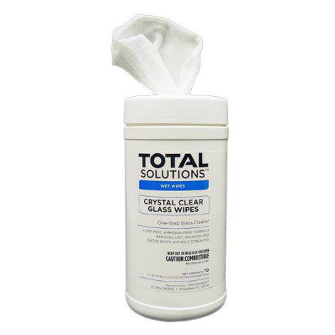 Crystal Clear Glass Cleaner Wipes