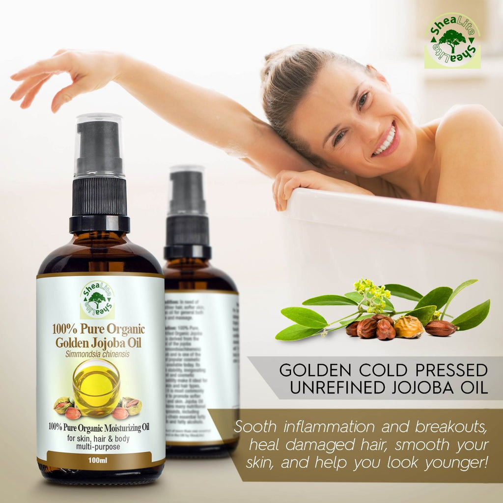 Pure Jojoba Golden Oil