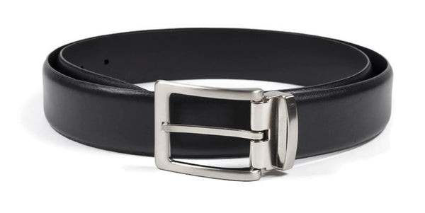 Chambers Leather Belt - Black