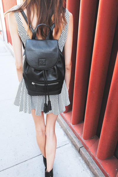 Hudson Leather Backpack - New York