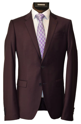 LIEF HORSENS 2 PIECE SUIT- BLACK LABEL/WINE