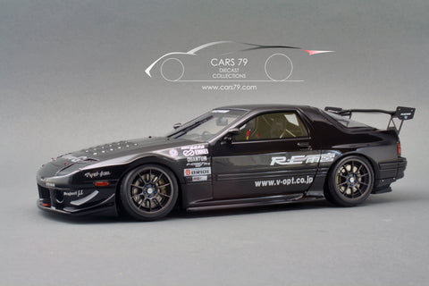 1/18 Mazda RX-7 (FC3S) RE Amemiya Black by Ignition Model (IG1515)