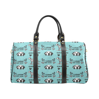 Dalmatian Pattern New Waterproof Travel Bag/Small - TeeAmazing