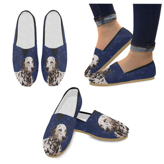 Dalmatian Lover Women's Casual Shoes - TeeAmazing