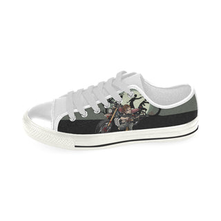 Daryl Dixon White Men's Classic Canvas Shoes - TeeAmazing