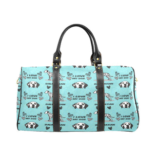 Dalmatian Pattern New Waterproof Travel Bag/Large - TeeAmazing