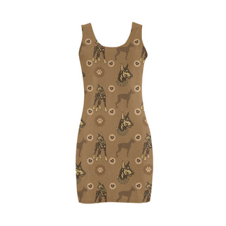 Doberman Medea Vest Dress - TeeAmazing