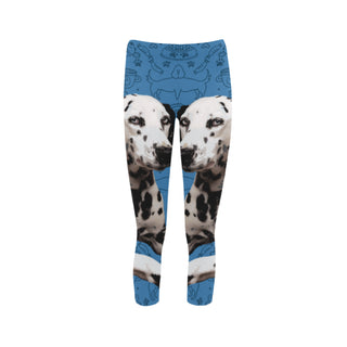 Dalmatian Dog Capri Legging (Model L02) - TeeAmazing