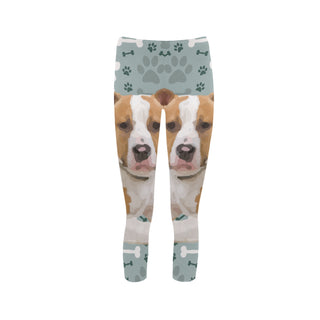 American Staffordshire Terrier Capri Legging (Model L02) - TeeAmazing