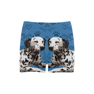 Dalmatian Dog Briseis Skinny Shorts (Model L04) - TeeAmazing