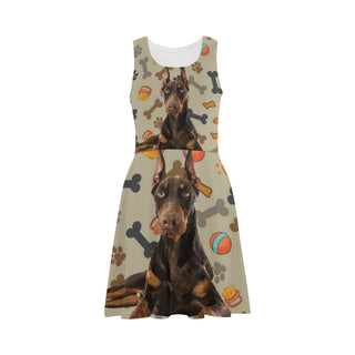 Doberman Dog Atalanta Sundress - TeeAmazing