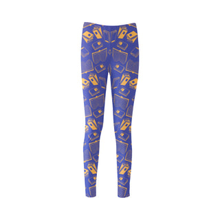 Book Pattern Cassandra Women's Leggings - TeeAmazing