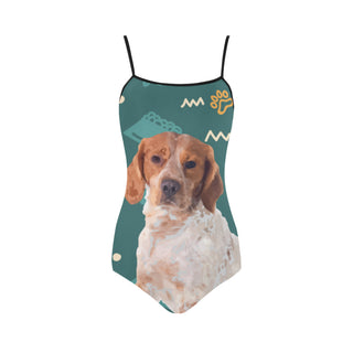 Brittany Spaniel Dog Strap Swimsuit - TeeAmazing