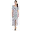 Loco En Cabeza Cotton Printed Dress  CZWD0092