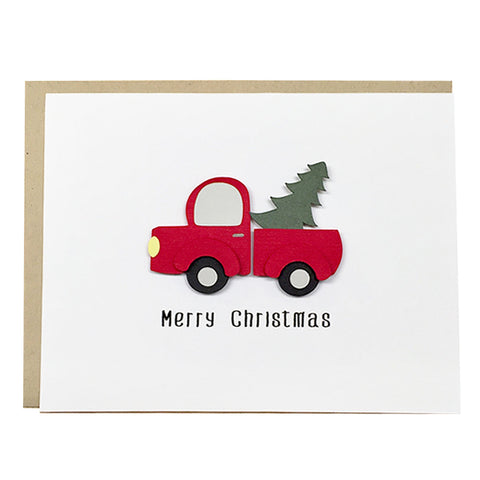 RUSTIC CHRISTMAS TRUCK