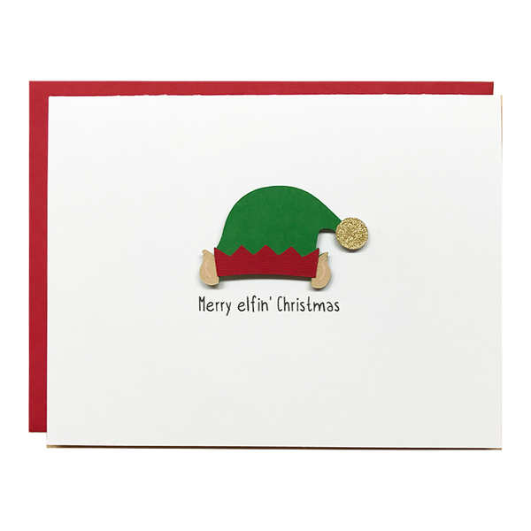 MERRY ELFIN' CHRISTMAS | Boxed Set of 8