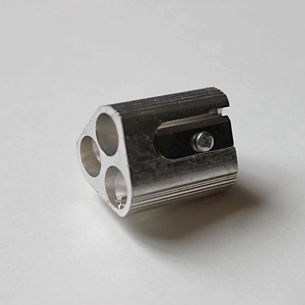 Three hole sharpener