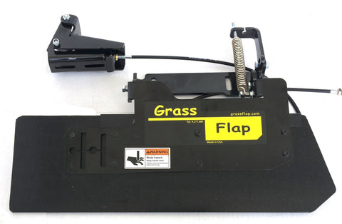 41P50-5P Low Profile Heavy-Duty GrassFlap with SE Pedal Requires Pedal Mounting Plate.