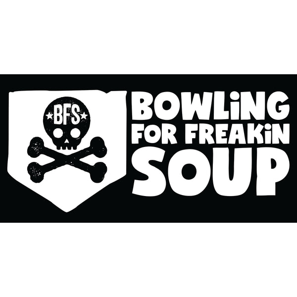 Bowling For Soup - Skull Sticker