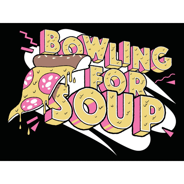 Bowling For Soup - Pizza Logo Sticker