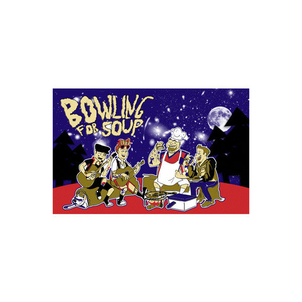 Bowling For Soup - Campout Limited Edition Screen Printed Poster