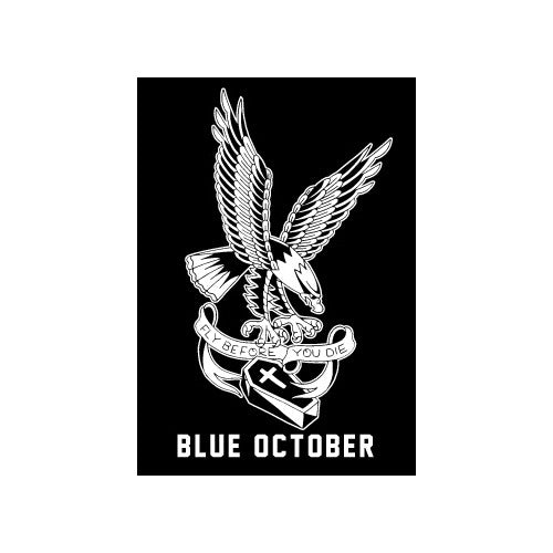 Blue October - Fly Before You Die Sticker
