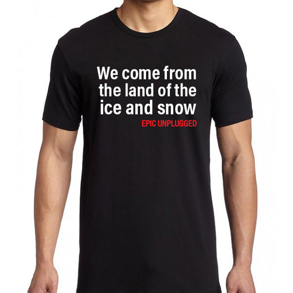 Epic Unplugged - Immigrant  Tee