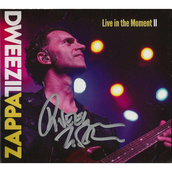 Dweezil Zappa - Live In The Moment Part II CD (Autographed)