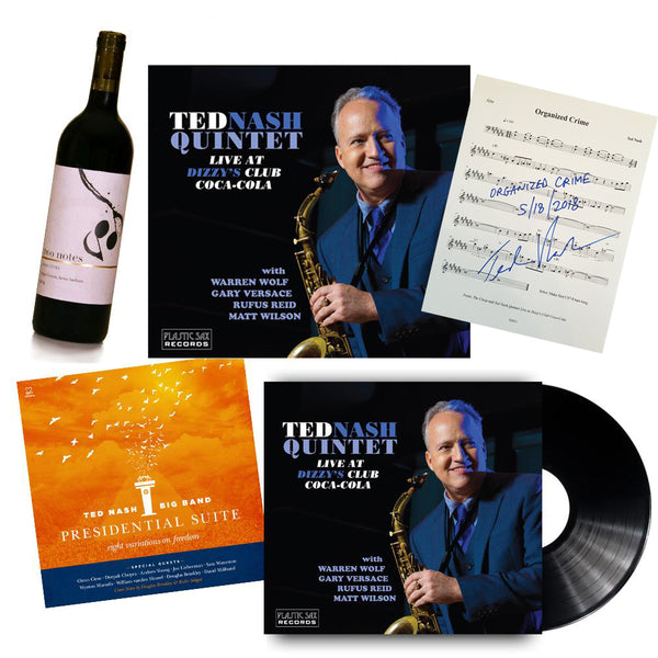 Ted Nash - Platinum Package Autographed Set